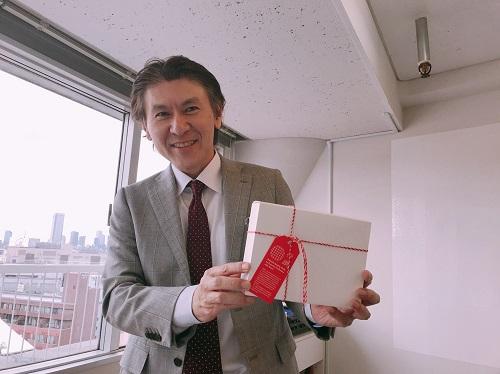 栗原典裕、56歳の誕生日、サプライズプレゼントいただきました。